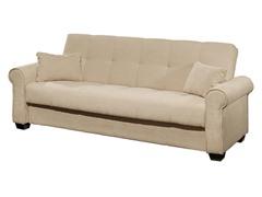 Caribbean Ivory Convertible Sofa