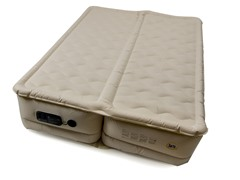 "Serta Queen 18"" Dual-Zone Air Mattress"