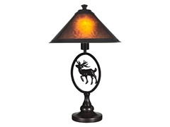 Mica Moose Table Lamp