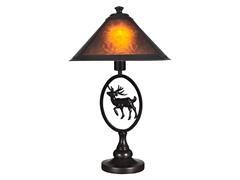 Mica Moose Table Lamp