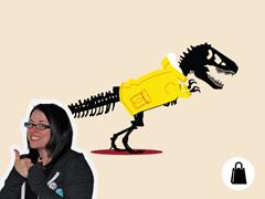 Jurassic Parka Tote