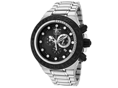 Subaqua 1527 Stainless with Black Bezel