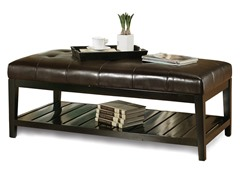 Manchester Bicast Tufted Coffee Table
