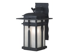 San Mateo Small Wall Lantern, Black