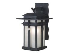 San Mateo Small Wall Lantern, Black