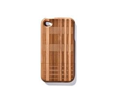 Bamboo Plaid iPhone Cover for 4/4S