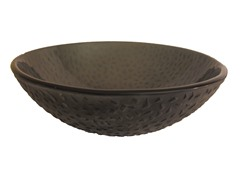 Glass Vessel Sink, Grey