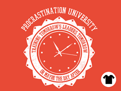 Procrastination University - Orange