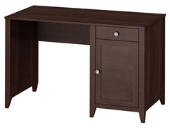 "48"" Single Pedestal Desk - Warm Molasses"