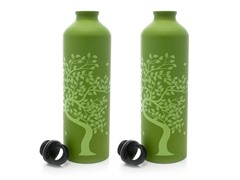 Gaiam Tree of Life Aluminum Bottle 2-Pack