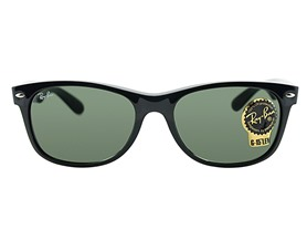 Ray-Ban New Wayfarer, Black 55mm