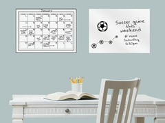 "17.5""x24"" White Board & Monthly Calendar"