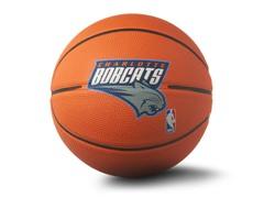 """Charlotte Bobcats 22"""" Size 3 Basketball"""