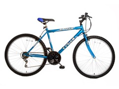 TITAN Pioneer Blue Mountain Bike