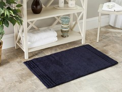 "Navy 20""x34"" Bath Rugs - Set of 2"
