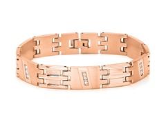 18kt Plated Shiny Link Bracelet