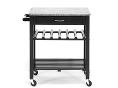 Baxton Studio Quebec Kitchen Cart