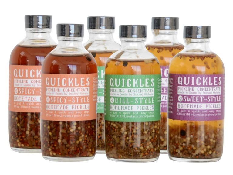 Quickles Pickling Concentrate Sampler (6)