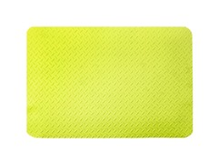3' Dry Area Diamond Mat, Yellow