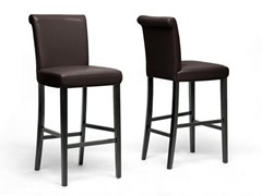 Bianca Brown Bar Stool- Set of 2