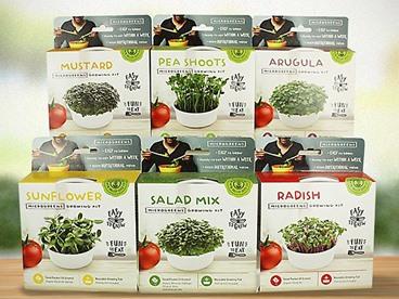 True Leaf Mini Microgreen Growing Kits