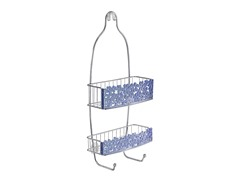 InterDesign Blumz Shower Caddy - Blue