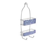 InterDesign Blumz Shower Caddy - Blue