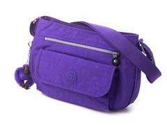 Kipling Syro Shoulder/Cross-Body, Purple