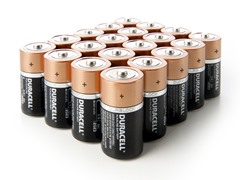 C Alkaline Batteries - 20 Pack