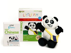Volume 1 w/ Flashcards & Panda - Chinese
