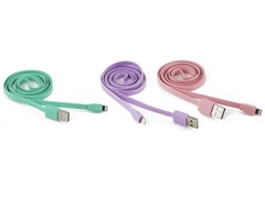 Flat USB to Lightning Cable