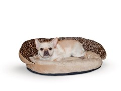 Plush Bolster Sleeper Leopard - Small