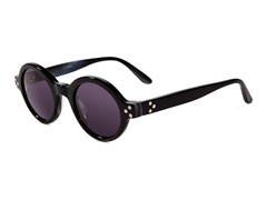 Retro-Focus Sunglasses, Black Horn