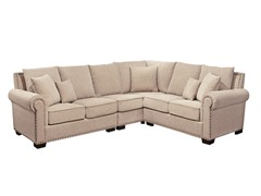 Abbyson Living Monte Carlo Fabric Sectional