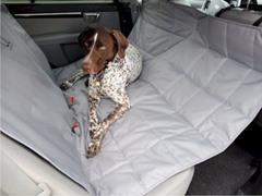 Hammock Car Seat Pet Protector, Gray