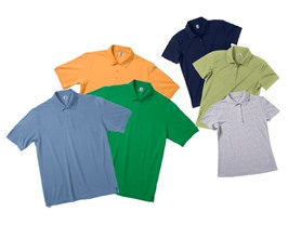 3-Pack: Zorrel Men's & Women's Pique Polos