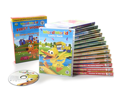 WordWorld 14 DVD Set with 25 Flashcards