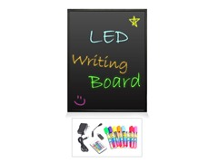 "16"" x 12"" Erasable Illuminated LED Writing Board"