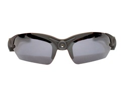 1080p HD Action Cam Sunglasses - Black