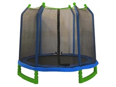 7 Ft Trampoline w/Enclosure
