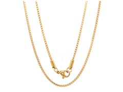 18kt Gold Plated Box Chain
