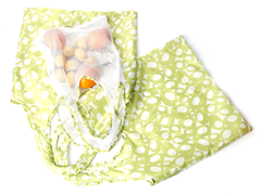 Fresh Kit 3 Grocery Bags - Lime