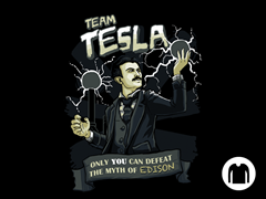 Team Tesla Long-Sleeve Tee