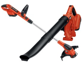 Black & Decker 18-Volt Cordless Trimmer/Sweeper Kit