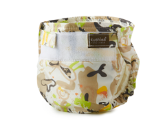 Kushies Ultra Lite Diaper - Milky Latte
