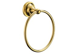 Macartney Towel Ring, Brass