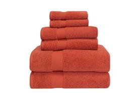Superior 100% Zero Twist Cotton 6-Piece Towel Set