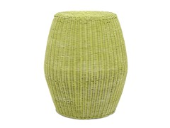 Caine Stool High-Green Wash