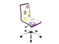 Lumisource Printed Daisy Office Chair