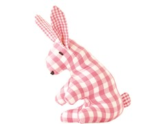 Mini Bunny Rattle - Pink